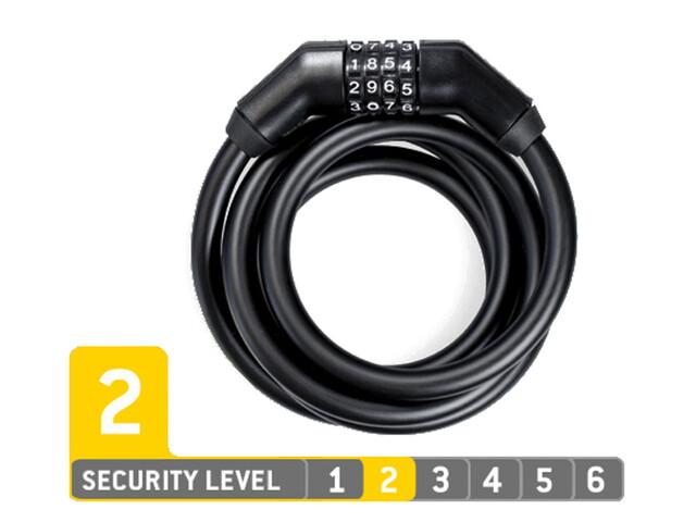 Trelock KS 260/110 Code Kabelschloss black